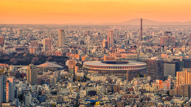 Estadio Olímpico Nacional de Japón, Tokio, JJOO 2020