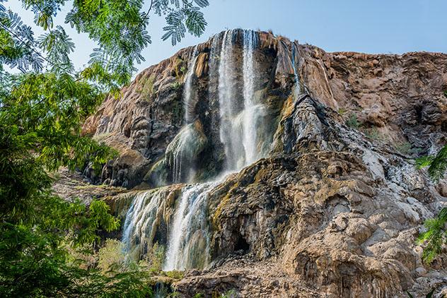 Para sentir la calidez del desierto se puede disfrutar de las aguas de Ma'in Hot Springs, Jordania © OSTILL is Franck Camhi / Shutterstock