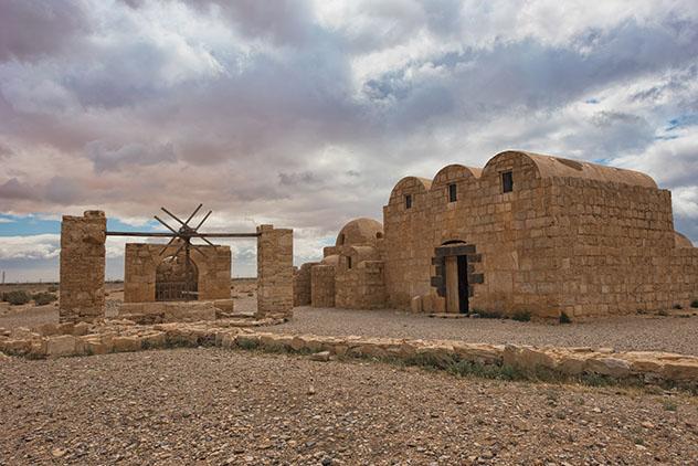 Castillo Qusayr Amra, cuya visita también está incluida en el Jordan Pass, Jordania © CCinar / Shutterstock