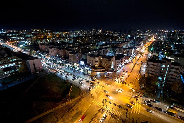 Panorámica de Pristina, la capital de Kosovo © BalkansCat / Shutterstock