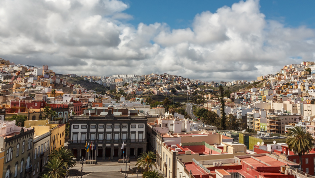 Panorámica de Las Palmas de Gran Canaria, Canarias, España© Denis Shikov / 500px