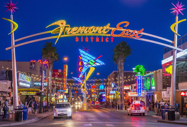 Freemont East District, Las Vegas, EE UU © Kobby Dagan / Shutterstock / Royalty Free