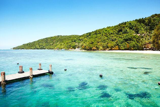 Isla Parque Nacional de Tunku Abdul Rahman, Malasia © Matt Munro / Lonely Planet