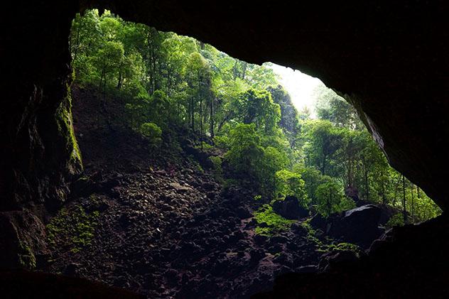 Parque Nacional Gunung Mulu en Malasia, cueva Deer