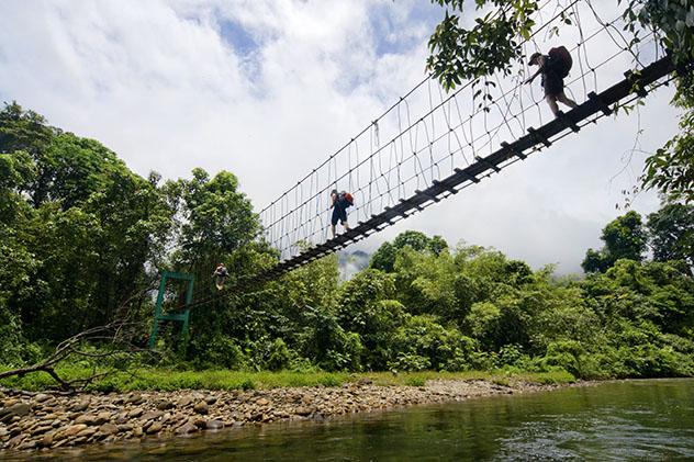 Parque Nacional Gunung Mulu en Malasia