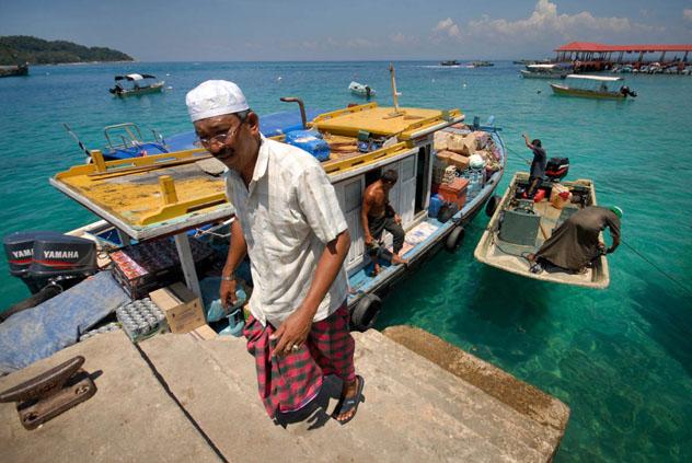 Isla Pulau Perhentian, Malasia © Pete Seaward / Lonely Planet