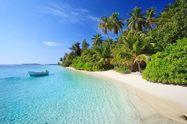El arquetipo de las islas paradisíacas: un día normal en las Maldivas © Matteo Colombo / Getty Images
