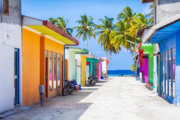 Isla Maafushi, Maldivas © Tobias Helbig / Getty Images