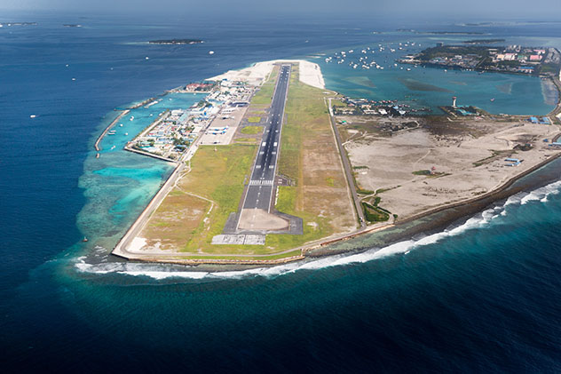 Aeropuerto de Malé, Maldivas ©klempa / Shutterstock