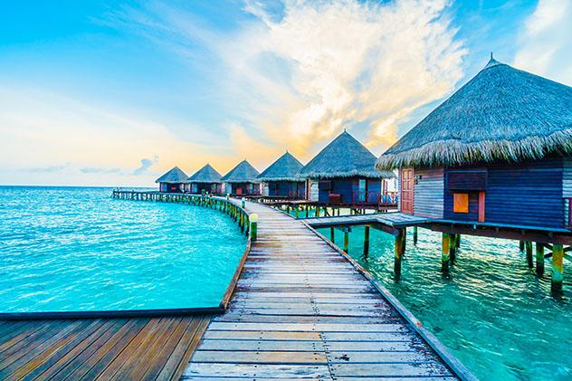 Lugares para declararse: Maldivas