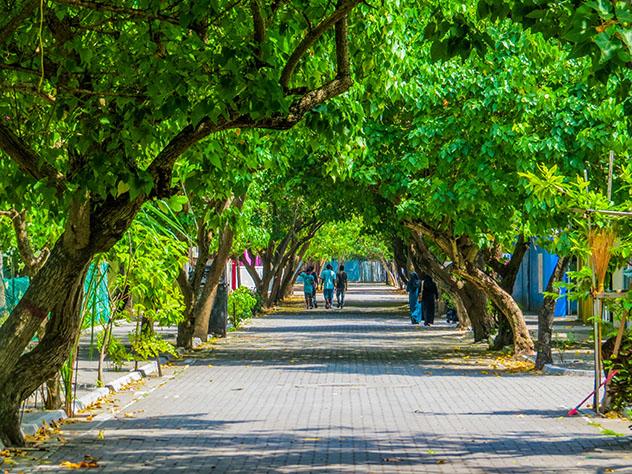 Villingili, isla de Maldivas, © Diego Fiore / Shutterstock