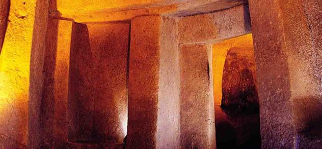 El bello y misterioso Hipogeo de Hal Saflieni, Malta © www.visitmalta.com