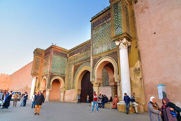 Mequínez, Marruecos: Bab Mansour
