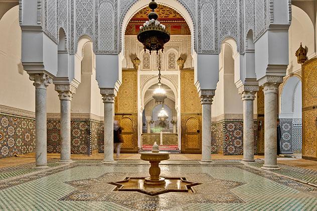Mequínez, Marruecos: mausoleo del Moulay Ismail