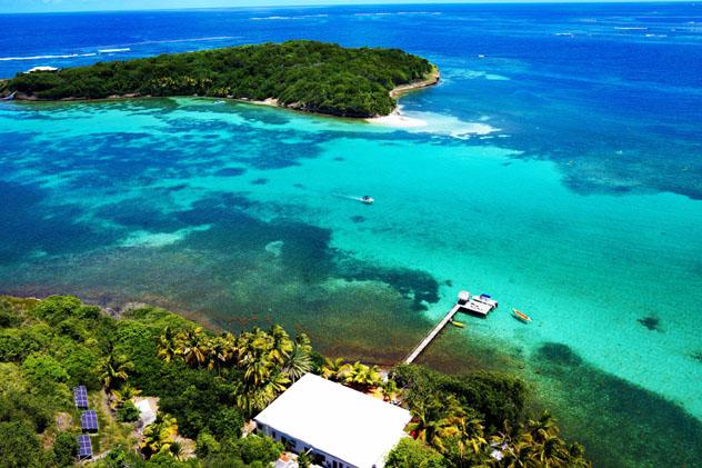Ilet Oscar, Martinica © www.www.iletoscar.com