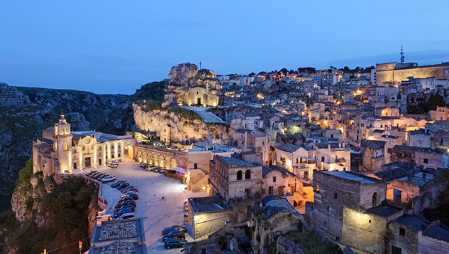Matera, Italia © Frans Sellies / Getty Images