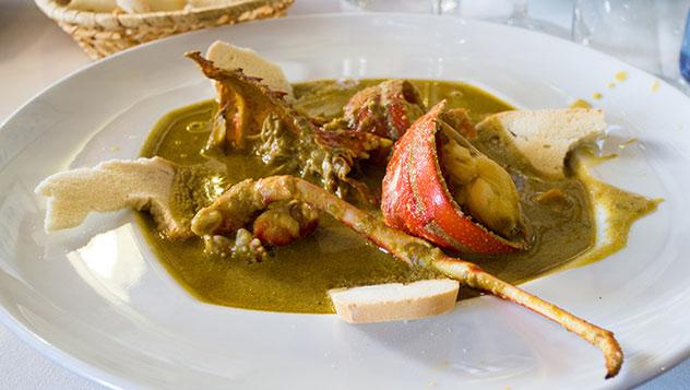 Caldereta, gastronomía de Menorca, Islas Baleares, España