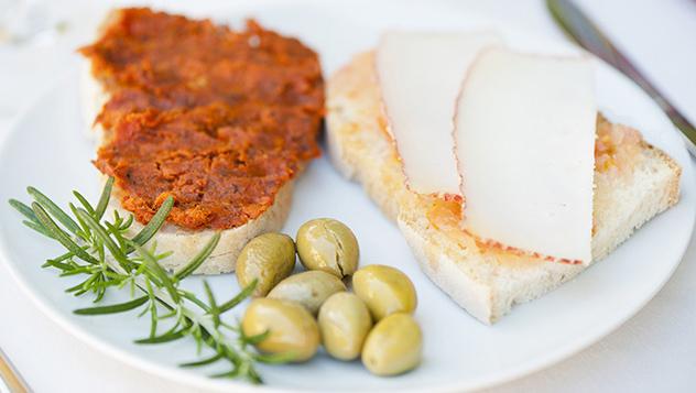 Gastronomía de Menorca, Islas Baleares, España
