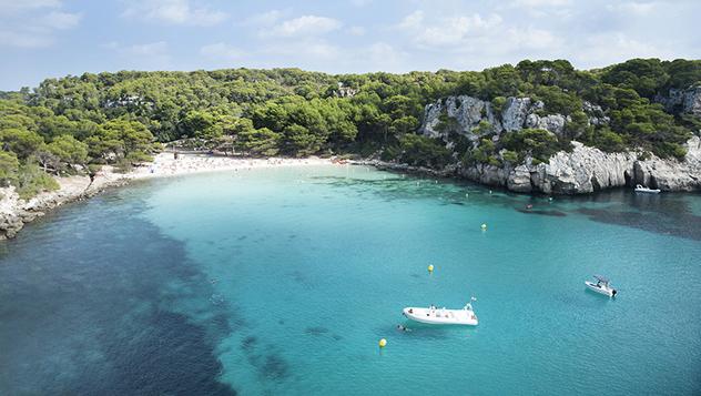 Cala Macarella, Menorca, Islas Baleares, España