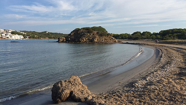 Playa del Parque Natural de S'Albufera des Grau