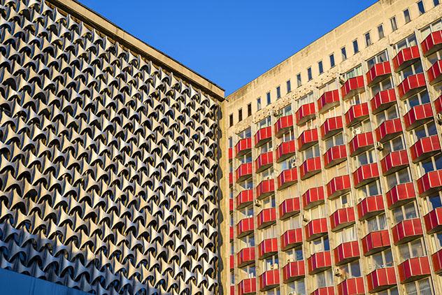 Detalle arquitectónico en Chisinau, capital de Moldavia © FrimuFilms / Shutterstock