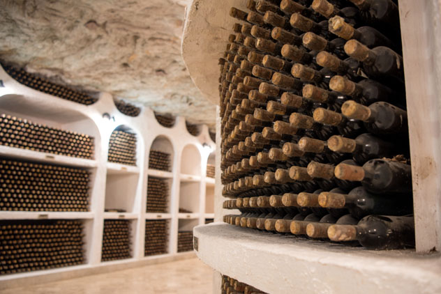 Laberinto subterráneo de las bodegas de Cricova, Moldavia © Yvonne Pijnenburg-Schonewille / Shutterstock