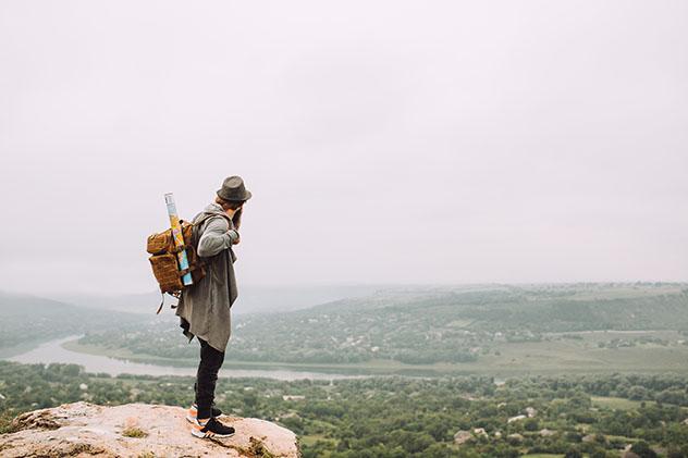 Viajero en Moldavia © edric/ Shutterstock