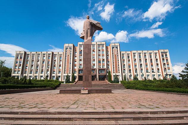 Tiraspol, la capital de Transnistria, Moldavia © Pe3k / Shutterstock