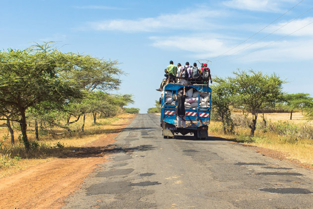 Gracias a los amables lugareños un viaje miserable se convirtió en algo memorable, Mozambique © Vladimir Zhoga / Shutterstock