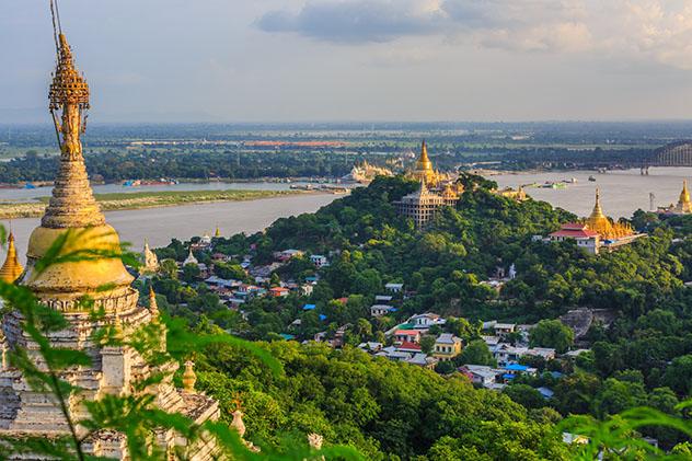 Río Ayeyarwady, Myanmar © Avigator Thailand / Shutterstock