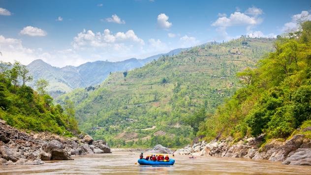 Nepal, río Sun Kosi © Aleksandar Todorovic / Shutterstock