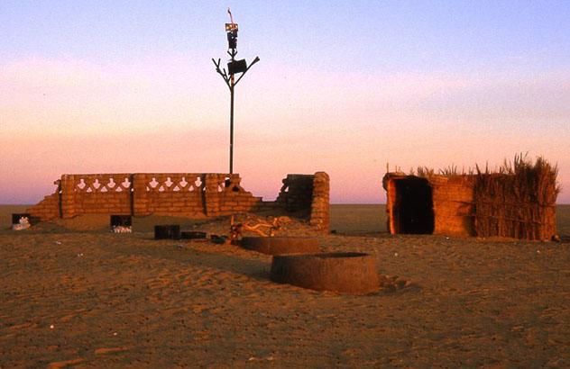 El Árbol de Ténéré, cerca de Agadez, Níger