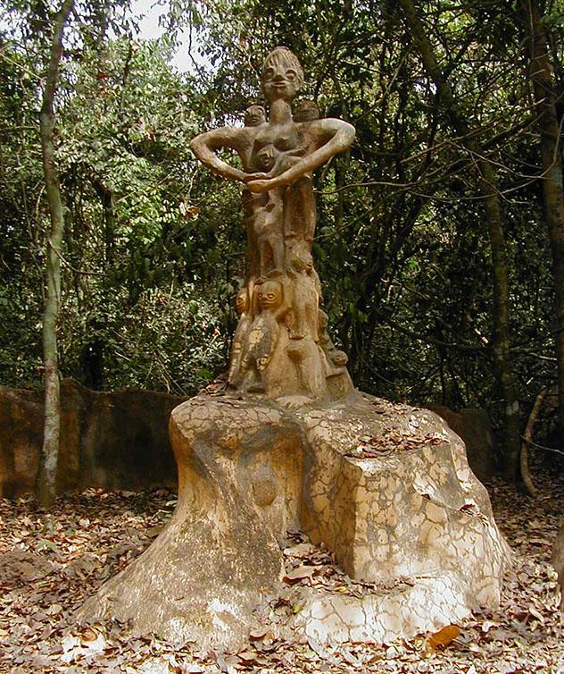 Bosque Sagrado de Ochún, Oshogbo, Nigeria