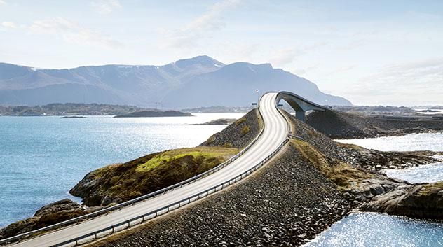 Carretera de Europa: carretera del Atlántico, Noruega