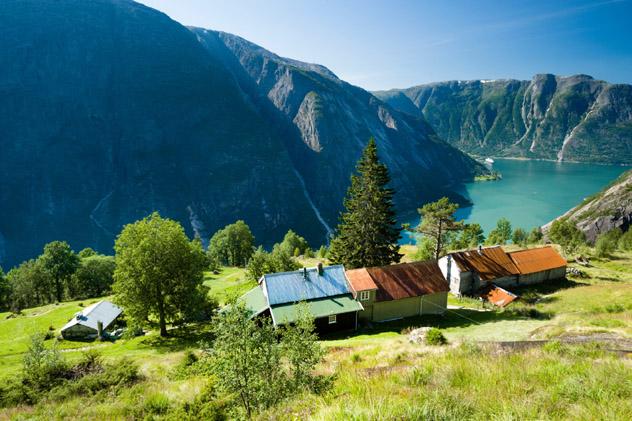 Eidfjord, fiordo de Noruega © Justin Foulkes / Lonely Planet