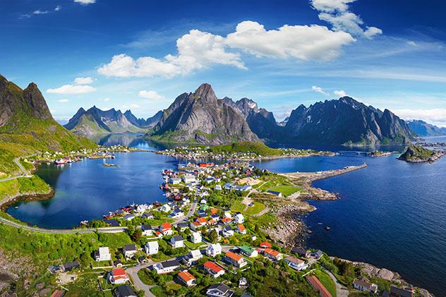 Islas de Europa: islas noruegas Lofoten