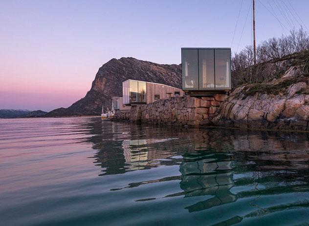 Hotel europeo: Manshausen, Islas Lofoten, Noruega