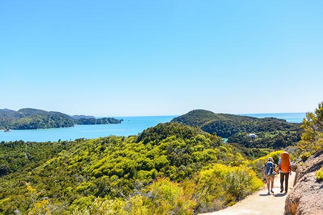 Abel Tasman Coast Track, Nueva Zelanda © Guaxinim / Shutterstock