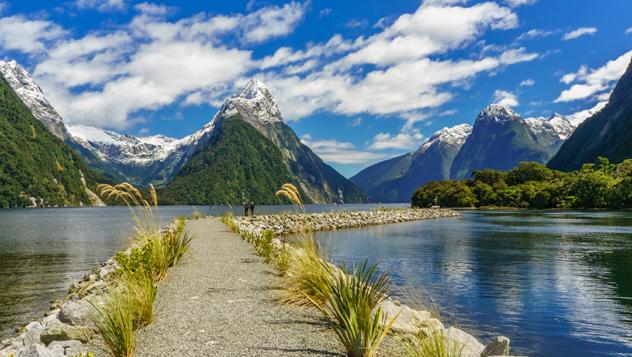 ¿La octava maravilla del mundo? Para Rudyard Kipling, sí: Milford Sound, en la costa oeste de la Isla Sur de Nueva Zelanda © Marconi Couto de Jesus / Shutterstock