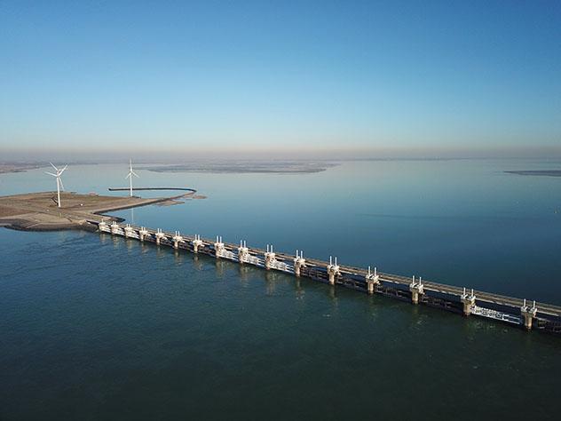 Carretera de Europa: ruta del Plan Delta, Países Bajos