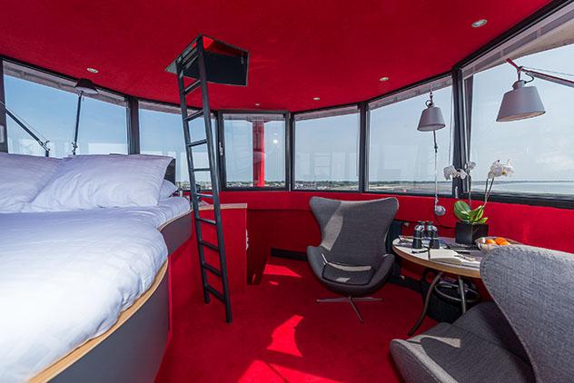 Hotel europeo: Faro de Harlingen, Países Bajos