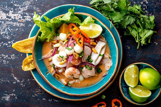 Un viaje gastronómico a Perú: ceviche