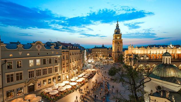 La bella Cracovia atrae multitudes, pero Polonia tiene mucho más que ofrecer © Mark_and_Anna_Wilson / Shutterstock