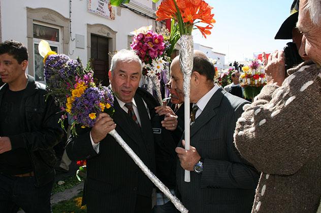 Semana Santa en São Bras de Aportel, Algarve en primavera, Portugal