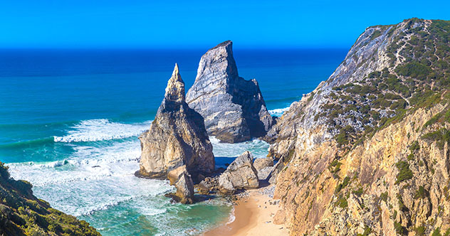 Carretera de Europa: de Lisboa a Sintra por la costa, Portugal