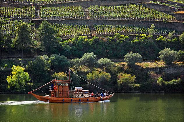 Octubre en Oporto y el Douro recorriendo viñedos, Portugal