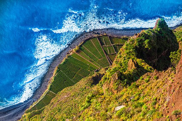 Vistas espectaculares desde el mirador de Cabo Girão, Madeira, Portugal