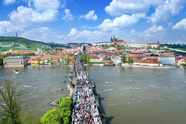 Subir al Castillo de Praga