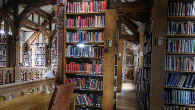 Gladstone Library, Gales, Reino Unido © www.gladstoneslibrary.org