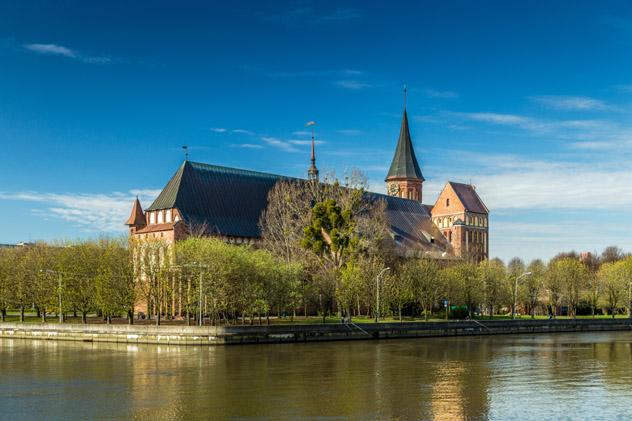 La catedral de Kaliningrado en la isla de Kant, Kaliningrado, Rusia © S.O.E / Shutterstock